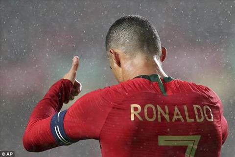 Ronaldo co lan thu 150 khoac ao DTQG nhung chi dong gop duoc 1 duong kien tao thanh ban