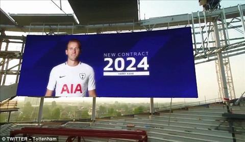 Harry Kane gia han hop dong them 6 nam toi Tottenham.
