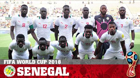 Doi tuyen Senegal tai World Cup 2018