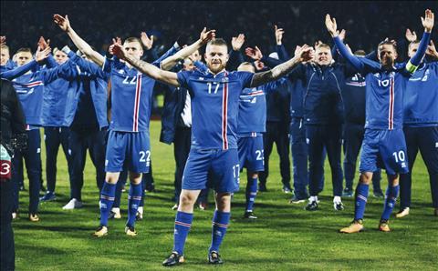 DT Iceland tai World Cup 2018 la an so thu vi.