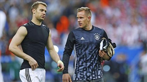 Ter Stegen tị nạnh với Neuer ở vị trí thủ môn chính thức ĐT Đức hình ảnh