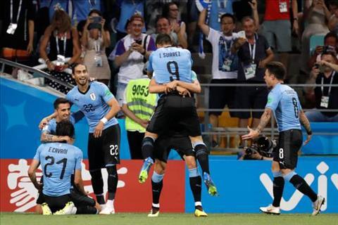 Cavani giup Uruguay dan ban sau gio nghi
