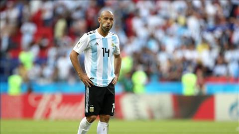 Javier Mascherano sau tran da noi loi chia tay DT Argentina.