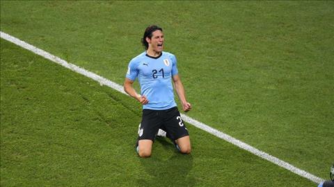 Cavani ghi ban mo ti so tran dau Uruguay vs Bo Dao Nha.