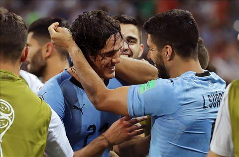 Cavani va Suarez cua Uruguay