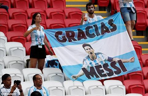 Messi lầm lũi tháo băng đội trưởng sau khi Argentina thua Pháp hình ảnh 2