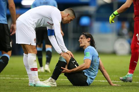Cavani lên tiếng về chấn thương trong trận gặp Bồ Đào Nha