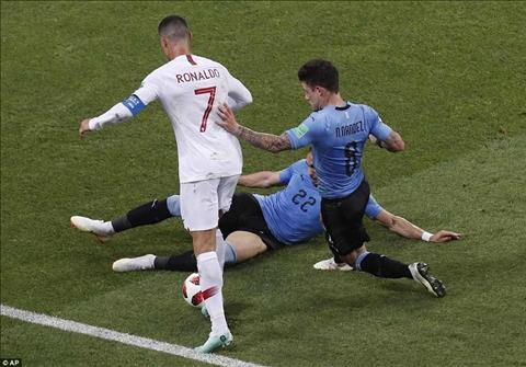 Hang thu Uruguay da phong toa rat tot Ronaldo