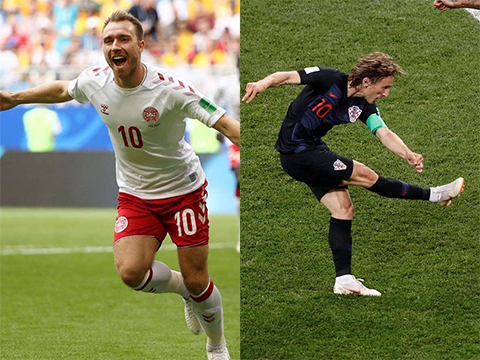 Link xem trực tiếp Croatia vs Đan Mạch vòng 18 World Cup 2018 hình ảnh