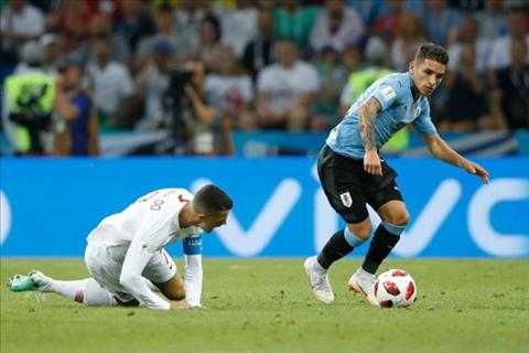 Neville khen ngợi Torreira sau trận Uruguay vs Bồ Đào Nha hình ảnh