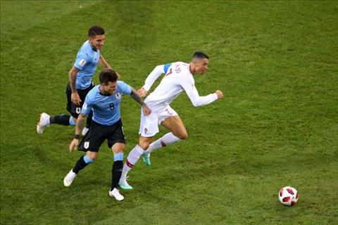 Ronaldo co cu dut diem dau tien