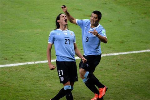 Uruguay vs Pháp tứ kết World Cup 2018 Suarez tự tin dù mất Cavani hình ảnh
