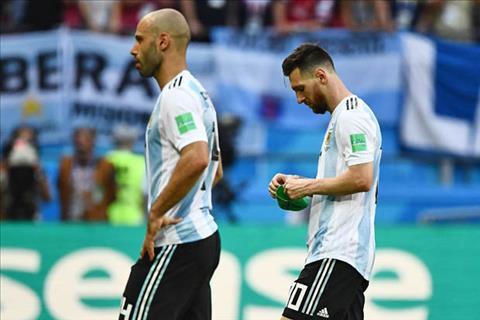 Thua Pháp bẽ bàng, Javier Mascherano chia tay ĐT Argentina hình ảnh
