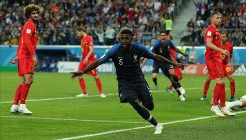 Tổng hợp: Pháp 1-0 Bỉ (World Cup 2018)