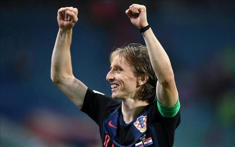 Didier Deschamps phát biểu về Luka Modric hình ảnh