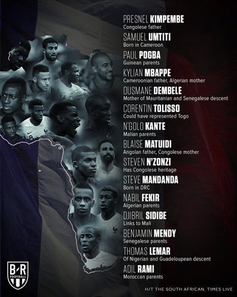 Hậu chung kết World Cup 2018 Khi tất cả đều là anh em hình ảnh
