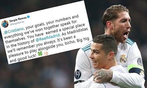 Dàn sao Real tri ân Ronaldo gia nhập Juventus hình ảnh