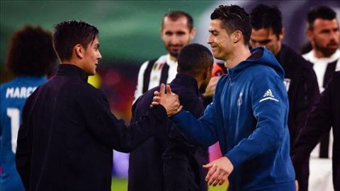 Dybala len tieng moi chao Ronaldo
