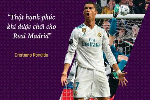 Infographics: Cristiano Ronaldo chia tay Real Madrid - Ra di de lai nhung gi?