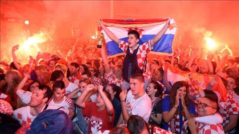 Những hình ảnh ấn tượng trong ngày ĐT Croatia làm nên lịch sử