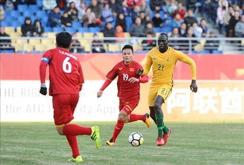 U23 Viet Nam mat co hoi doi dau nguoi Uc