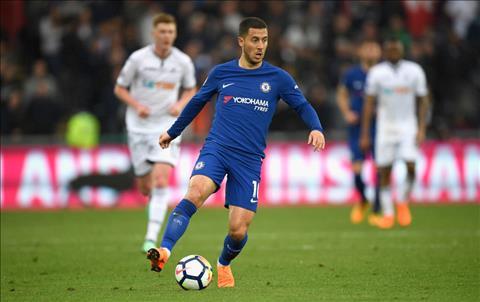 Sarri muon bien Hazard thanh trung tam trong loi choi cua Chelsea