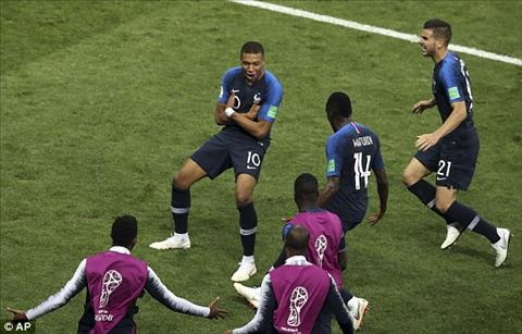 Mbappe di vao lich su World Cup
