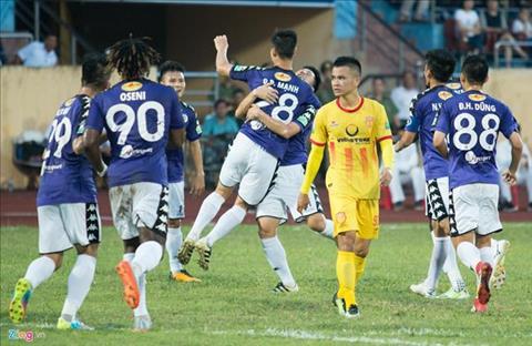Ha Noi 3-3 Nam Dinh (KT): Dan truoc 3-0, doi bong thanh Nam van khong the co chien thang
