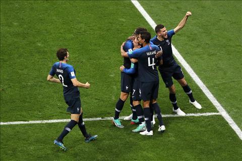 Những thống kê ấn tượng sau trận đấu Pháp 4-2 Croatia
