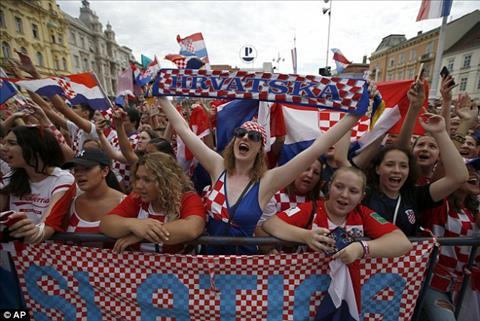 Du chi ve nhi nhung nguoi Croatia van tu hao voi nhung gi doi tuyen lam duoc.