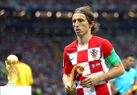 Modric duoc binh chon la Cau thu xuat sac nhat World Cup 2018