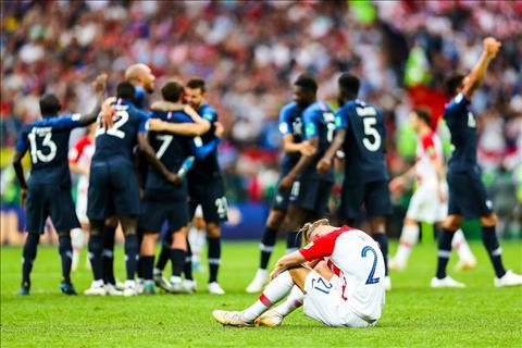 Chung kết World Cup 2018: Sai lầm, may mắn và nước mắt kẻ chiến bại