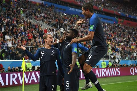 Varane lập kỷ lục sau khi vô địch World Cup 2018 hình ảnh