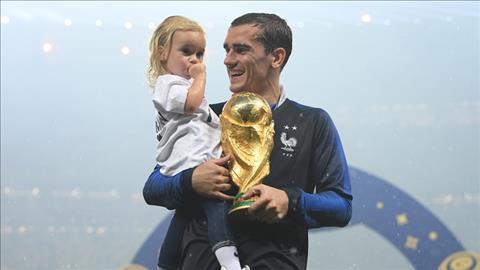 Lucas Hernandez phát biểu Antoine Griezmann giành Quả Bóng Vàng hình ảnh