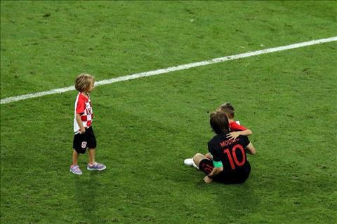 Luka Modric va nguoi Croatia van co the tu hao du that bai trong tran chung ket World Cup 2018.