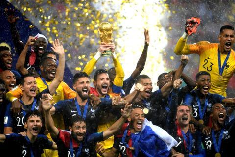 5 điểm nhấn trong ngày Pháp đăng quang World Cup 2018