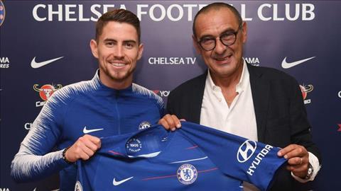 Chelsea mua Jorginho Chìa khóa thành công của Sarri hình ảnh
