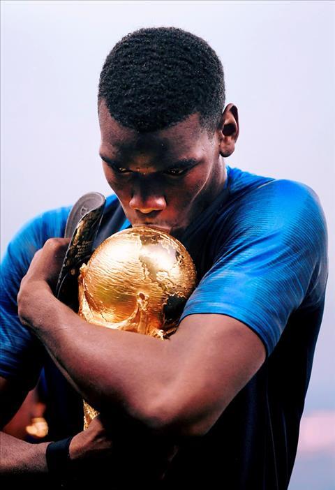 Câu chuyện xúc động về tấm ốp chân của Pogba tại World Cup 2018 hình ảnh