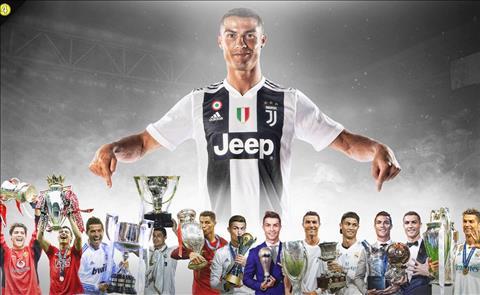 Ronaldo nha chinh phuc cac danh hieu