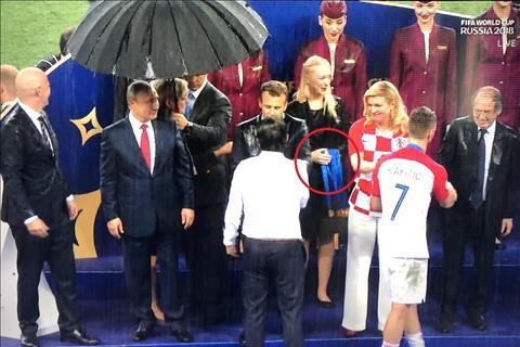 1 chiếc huy chương vàng World Cup 2018 bị đánh cắp ở lễ trao giải hình ảnh
