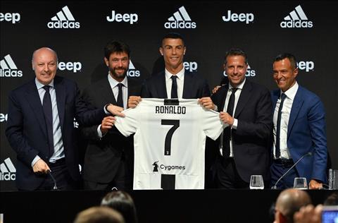 Juventus chieu mo Ronaldo