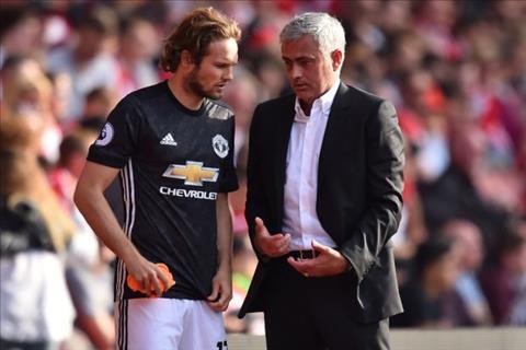 Hậu vệ Blind rời MU và cảm ơn HLV Mourinho hình ảnh