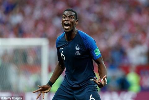 Clip Pogba cởi trần 'diễn thuyết' trong phòng thay đồ trước trận Pháp vs Uruguay