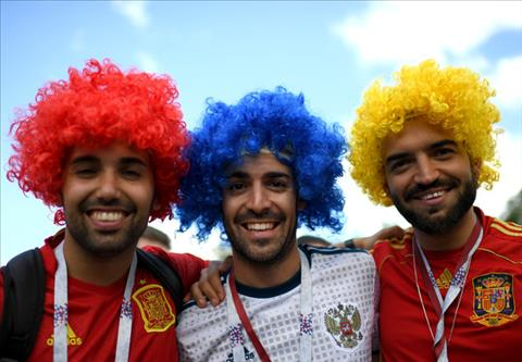 Hình ảnh trận đấu Tây Ban Nha vs Nga vòng 1/8 World Cup ảnh 3