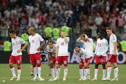 Hình ảnh trận đấu Croatia vs Đan Mạch vòng 1/8 World Cup 2018 ảnh 10