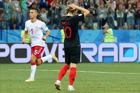 Hình ảnh trận đấu Croatia vs Đan Mạch vòng 1/8 World Cup 2018 ảnh 5