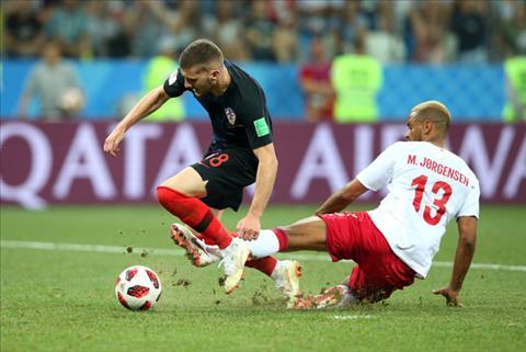 Hình ảnh trận đấu Croatia vs Đan Mạch vòng 1/8 World Cup 2018 ảnh 4