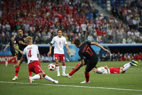 Hình ảnh trận đấu Croatia vs Đan Mạch vòng 1/8 World Cup 2018 ảnh 3