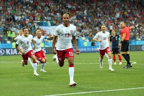 Hình ảnh trận đấu Croatia vs Đan Mạch vòng 1/8 World Cup 2018 ảnh 2