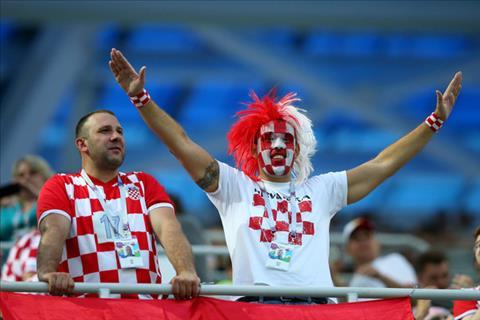 Hình ảnh trận đấu Croatia vs Đan Mạch vòng 1/8 World Cup 2018 ảnh 1